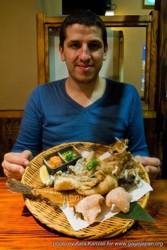 Zauo Shinjuku Tokyo Japon - aala plat de poissons