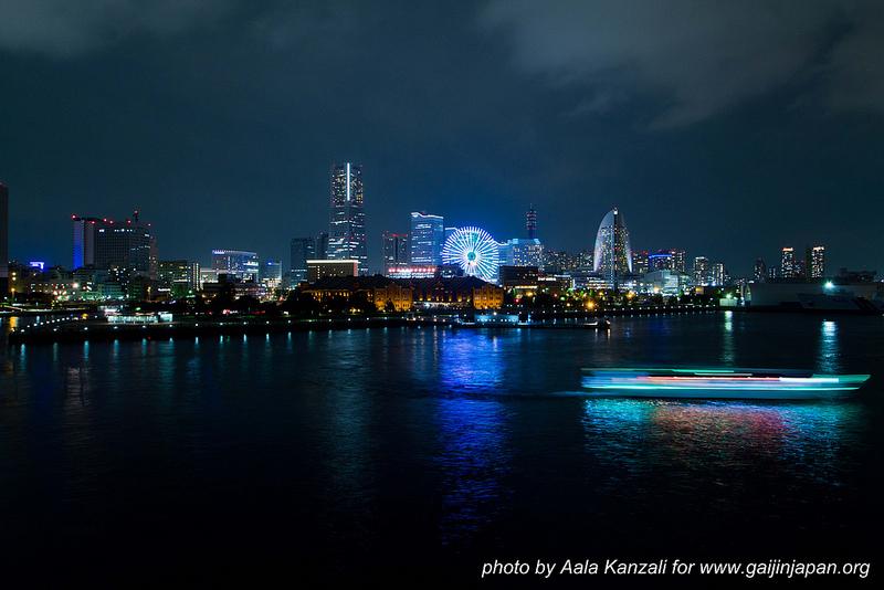yokohama safari -david michaud - 25 mai 2013 - Japon vue de nuit sur Yokohama