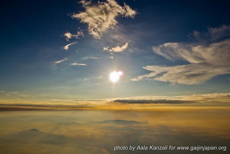 Mont Fuji ascension - soleil levé