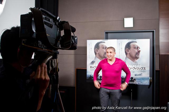 TIFF 2013 - publicité pour captain phillips