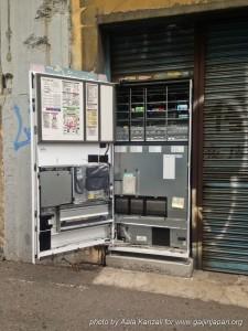 distributeur de boissons ouvert au Japon