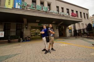Tokyo - Yokohama à pieds - ueno station
