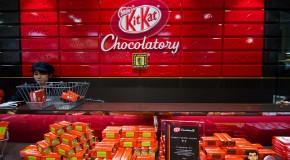 Kit Kat Chocolatory au Japon