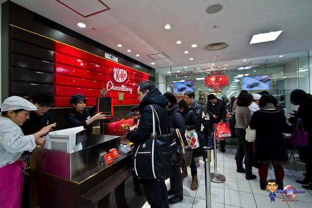 kitkat chocolatory ikebukuro tokyo la queue