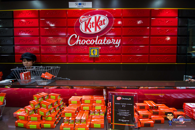 kitkat chocolatory ikebukuro tokyo