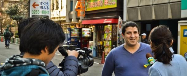 Interview pour Nihon TV : comment ils l'ont changée en 2 minutes