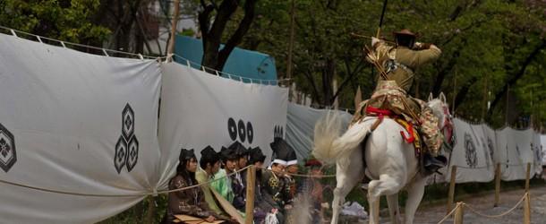 Yabusame à Asakusa, un rituel japonais plus qu'un sport