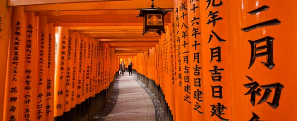 Fushimi Inari Taisha, sanctuaire shinto et 10000 Torii à Kyoto