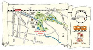 Ghibli Museum la carte d'accès