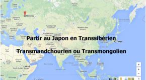 Partir au Japon en Transsibérien, Transmongolien ou Transmandchourien
