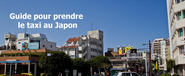 Prendre le taxi au Japon