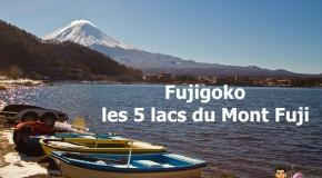 Fujigoko : la région des 5 lacs du Mont Fuji