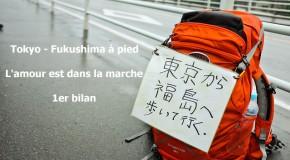 Tokyo – Fukushima à pied : l'amour est dans la marche