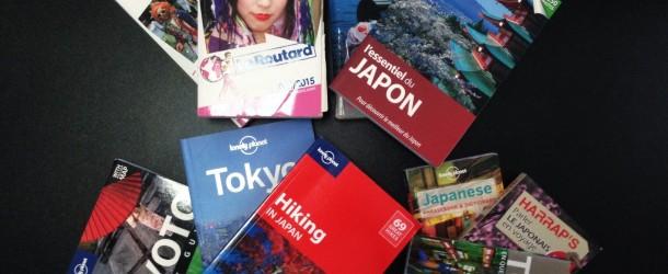 20 guides de voyage au Japon, lonely planet, le routard, le petit futé et les autres