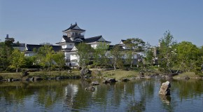 Le château de Toyama et son parc