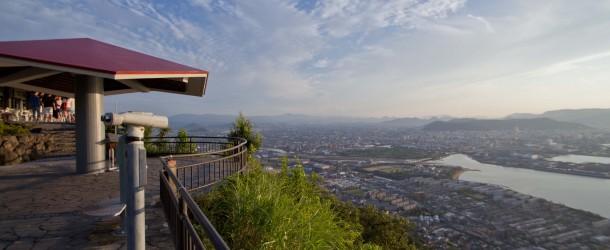Yashima, le meilleur observatoire sur la mer intérieure de Seto
