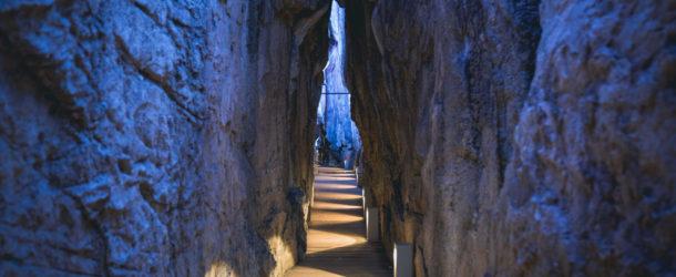 Ryusendo Cave, l'une des trois plus grandes grottes de calcaire du Japon