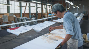 Balade sous le signe de l'art à Tokamachi