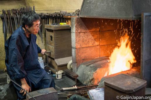 Masamune, atelier de sabres japonais et de lames à Kamakura