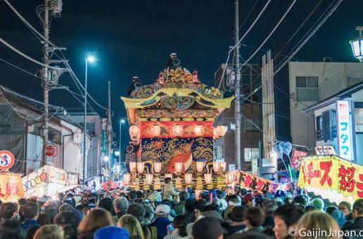 Chichibu Yomatsuri, un festival de nuit de toute beauté